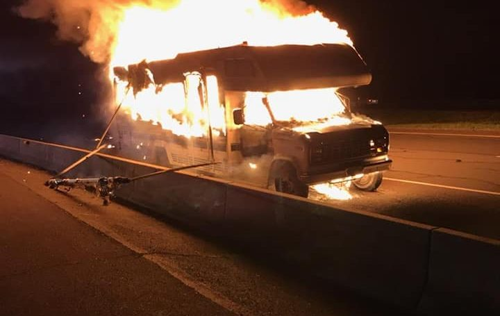 Station 30 Responds to Fully Involved Camper Fire