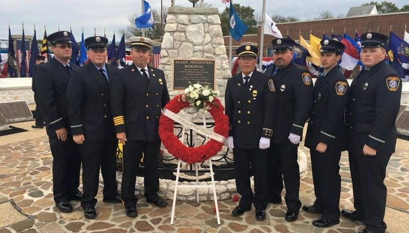 National Fallen Firefighter Memorial Service