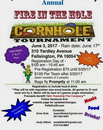 Second Annual Fire in the Hole Cornhole Tournament